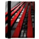 Red Building City Samsung Galaxy Tab 8.9  P7300 Flip Case View3