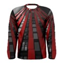 Red Building City Men s Long Sleeve Tee View1