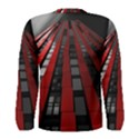 Red Building City Men s Long Sleeve Tee View2
