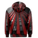 Red Building City Men s Pullover Hoodie View2