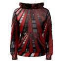Red Building City Women s Pullover Hoodie View1
