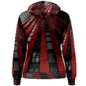 Red Building City Women s Pullover Hoodie View2
