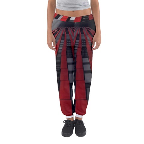 Red Building City Women s Jogger Sweatpants