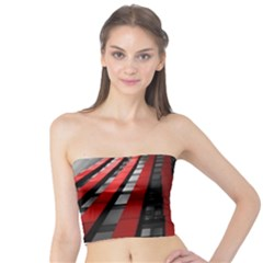 Red Building City Tube Top