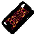 Alphabet Shirt HTC Desire V (T328W) Hardshell Case View4