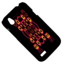 Alphabet Shirt HTC Desire V (T328W) Hardshell Case View5