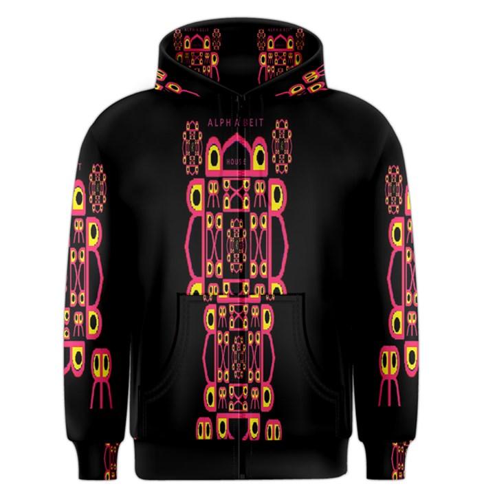 Alphabet Shirt Men s Zipper Hoodie