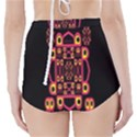 Alphabet Shirt High-Waisted Bikini Bottoms View2