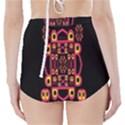 Alphabet Shirt High-Waisted Bikini Bottoms View2