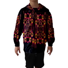 Alphabet Shirt Hooded Wind Breaker (Kids)
