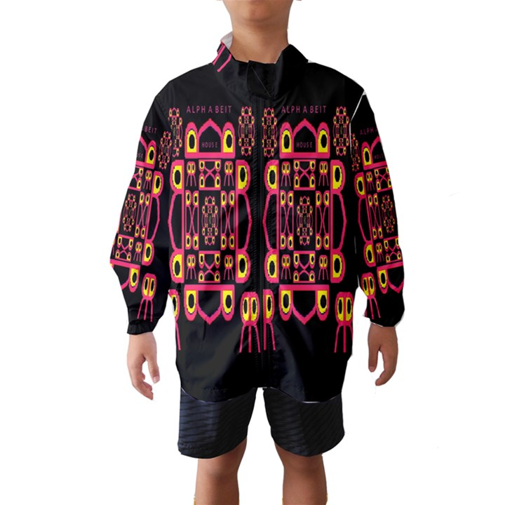 Alphabet Shirt Wind Breaker (Kids)