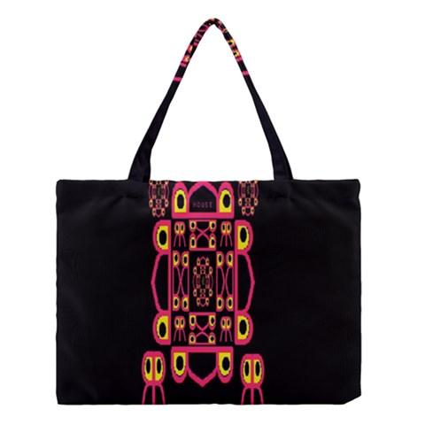 Alphabet Shirt Medium Tote Bag