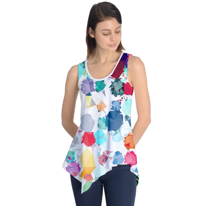 Colorful Diamonds Dream Sleeveless Tunic