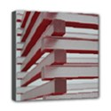 Red Sunglasses Art Abstract  Mini Canvas 8  x 8  View1