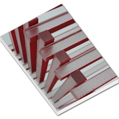 Red Sunglasses Art Abstract  Large Memo Pads