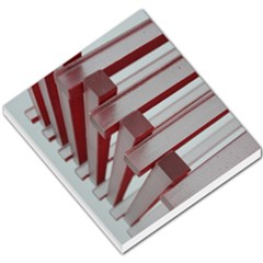 Red Sunglasses Art Abstract  Small Memo Pads