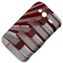 Red Sunglasses Art Abstract  HTC Wildfire S A510e Hardshell Case View4