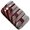 Red Sunglasses Art Abstract  HTC Wildfire S A510e Hardshell Case View5