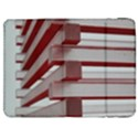 Red Sunglasses Art Abstract  Samsung Galaxy Tab 7  P1000 Flip Case View1