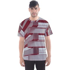 Red Sunglasses Art Abstract  Men s Sport Mesh Tee