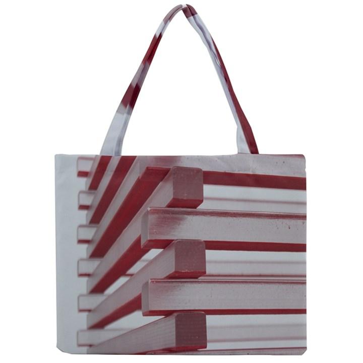 Red Sunglasses Art Abstract  Mini Tote Bag