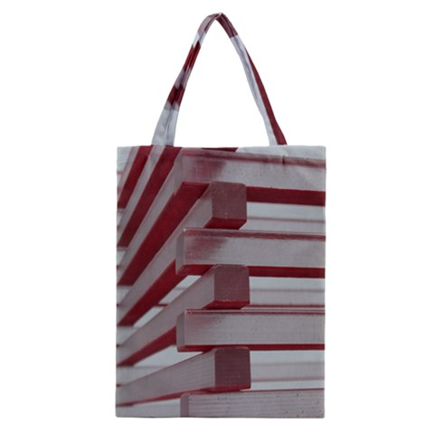 Red Sunglasses Art Abstract  Classic Tote Bag