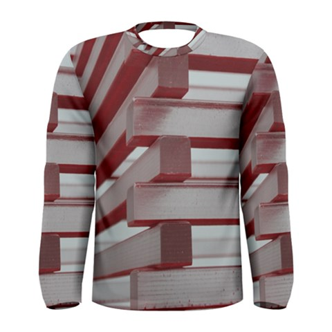 Red Sunglasses Art Abstract  Men s Long Sleeve Tee