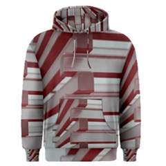 Red Sunglasses Art Abstract  Men s Pullover Hoodie