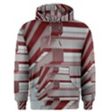 Red Sunglasses Art Abstract  Men s Pullover Hoodie View1