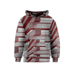 Red Sunglasses Art Abstract  Kids  Pullover Hoodie