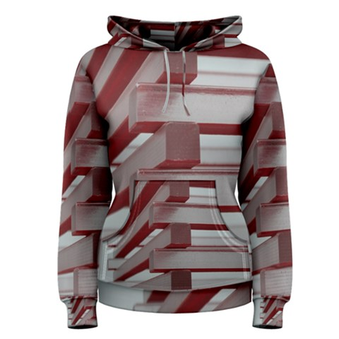 Red Sunglasses Art Abstract  Women s Pullover Hoodie