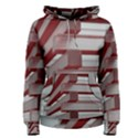 Red Sunglasses Art Abstract  Women s Pullover Hoodie View1
