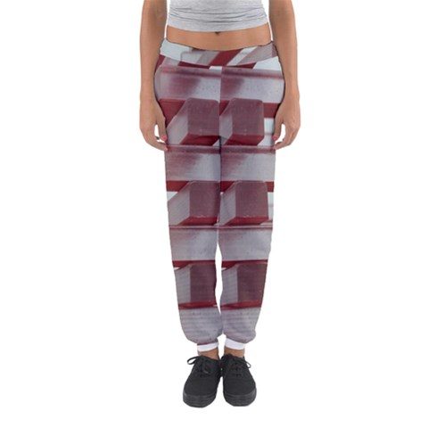 Red Sunglasses Art Abstract  Women s Jogger Sweatpants