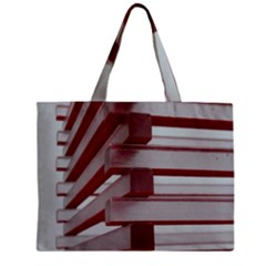 Red Sunglasses Art Abstract  Zipper Mini Tote Bag