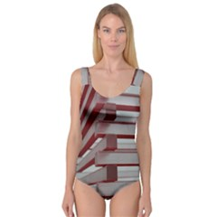 Red Sunglasses Art Abstract  Princess Tank Leotard