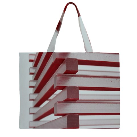 Red Sunglasses Art Abstract  Large Tote Bag