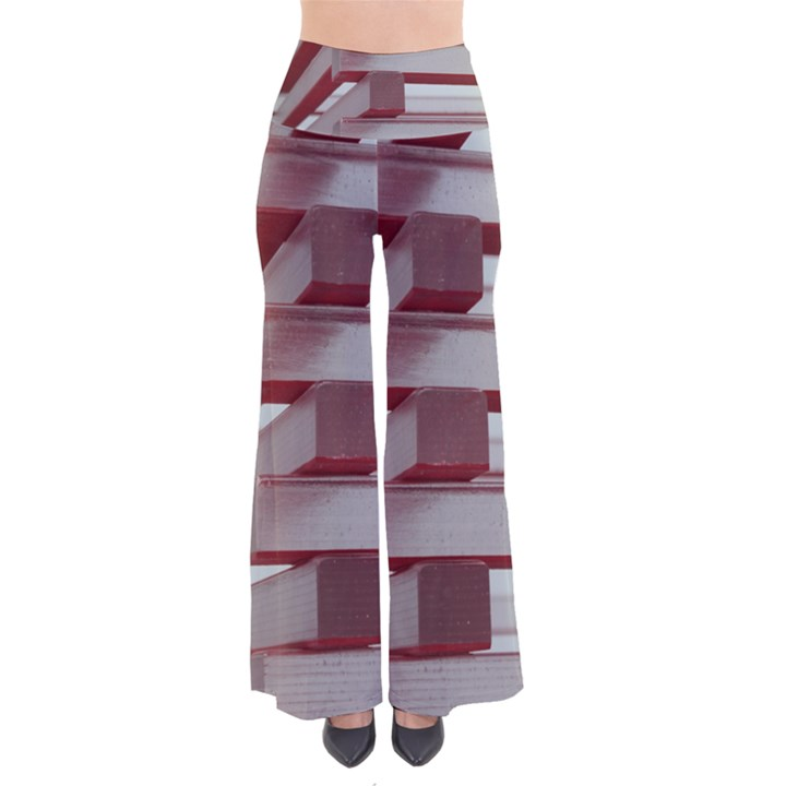 Red Sunglasses Art Abstract  Pants