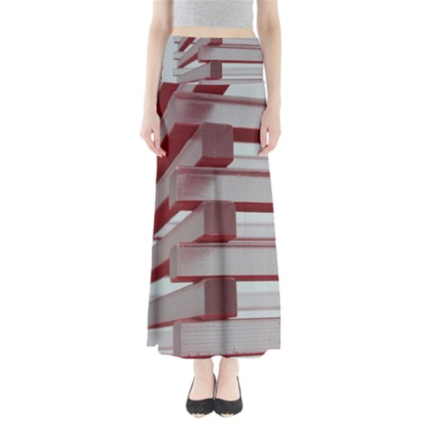 Red Sunglasses Art Abstract  Maxi Skirts