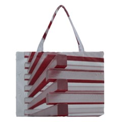 Red Sunglasses Art Abstract  Medium Tote Bag