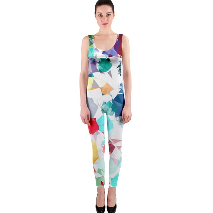 Colorful Diamonds Dream OnePiece Catsuit