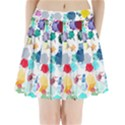 Colorful Diamonds Dream Pleated Mini Skirt View1