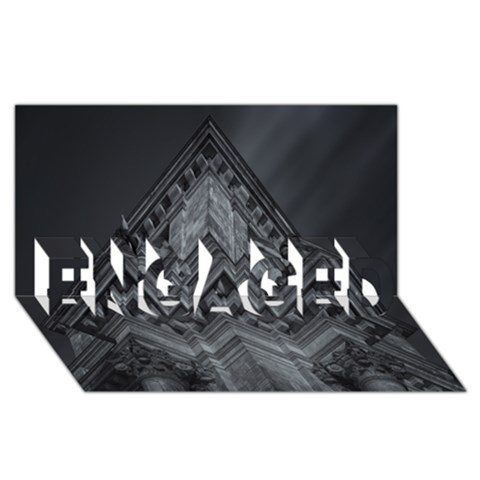 Reichstag Berlin Building Bundestag ENGAGED 3D Greeting Card (8x4)