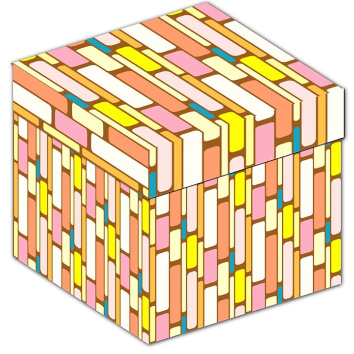 Retro Blocks Storage Stool 12