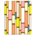 Retro Blocks Apple iPad Mini Flip Case View1