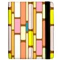 Retro Blocks Apple iPad Mini Flip Case View2