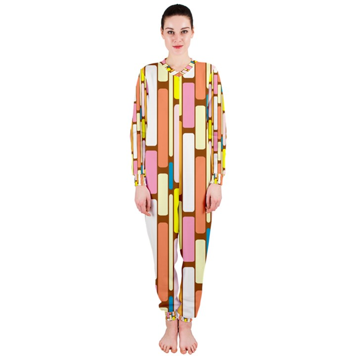 Retro Blocks OnePiece Jumpsuit (Ladies)