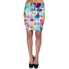 Colorful Diamonds Dream Bodycon Skirt