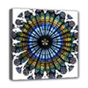 Rose Window Strasbourg Cathedral Mini Canvas 8  x 8  View1