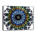 Rose Window Strasbourg Cathedral Canvas 16  x 12  View1