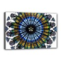 Rose Window Strasbourg Cathedral Canvas 18  x 12  View1